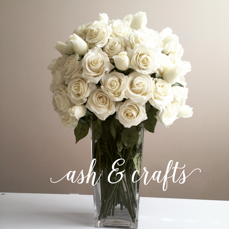 Wedding inspiration artificial white flowers ash and crafts white bouquet mightylinksfo