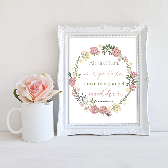 Free Mother's Day Printable | ashandcrafts.com