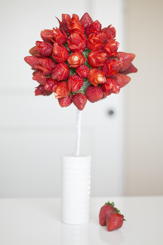 Incroyable Comment faire un bouquet de....fraises - IDÉES MAISON ZD-79