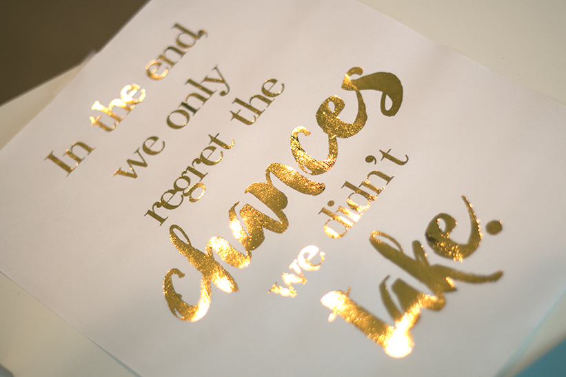 Well known Gold Foil Printing Tutorial - Ash and Crafts PE56