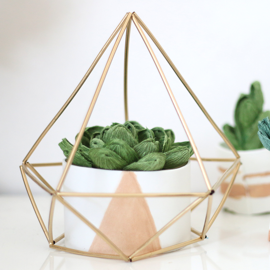 Himmeli Geometric Sculpture - Ash and Crafts