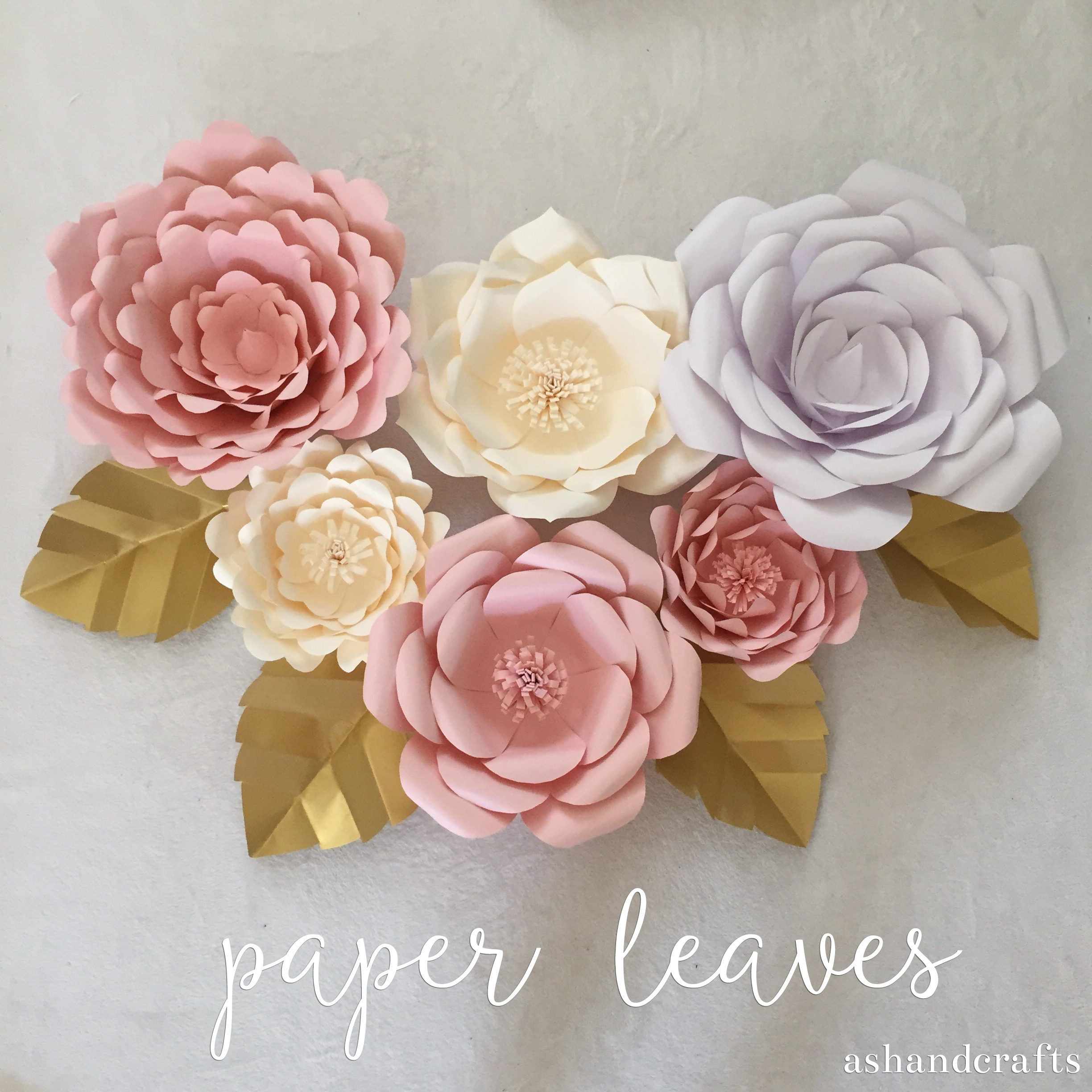 Paper leaves ash and crafts paper leaf tutorial ashandcrafts mightylinksfo